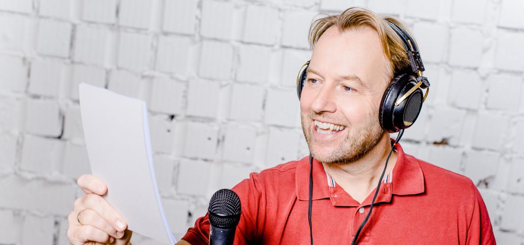 Peter Polevkovits als Sprecher